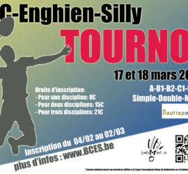 Affiche Tournoi Adulte 2018